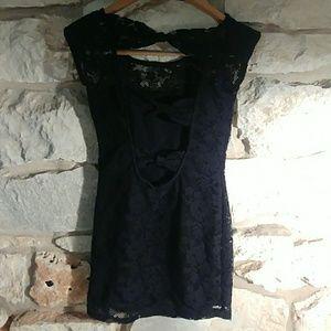 Zara Dresses - Zara lace mini dress